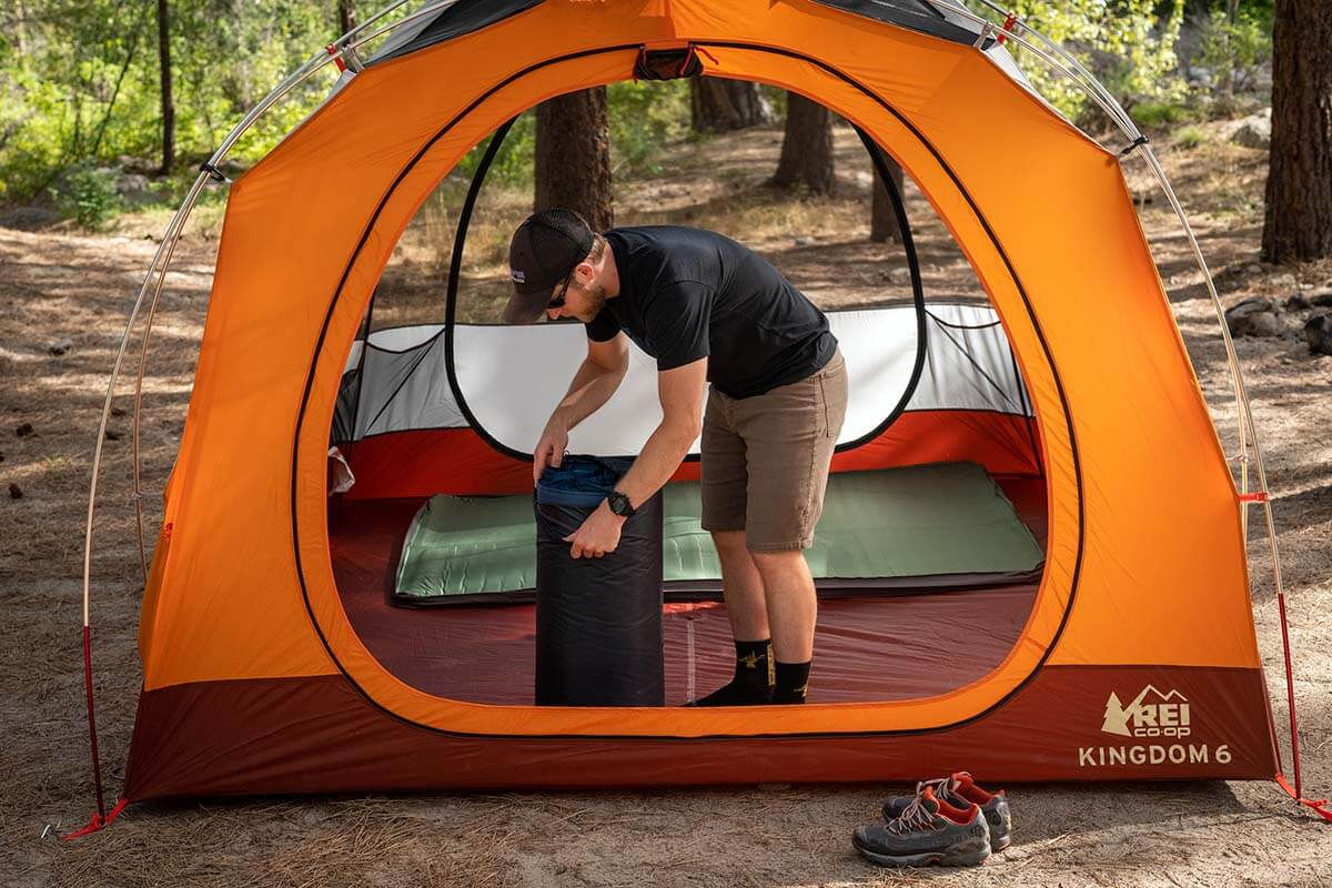 CAMPING TENTS YOU CAN STAND UP IN