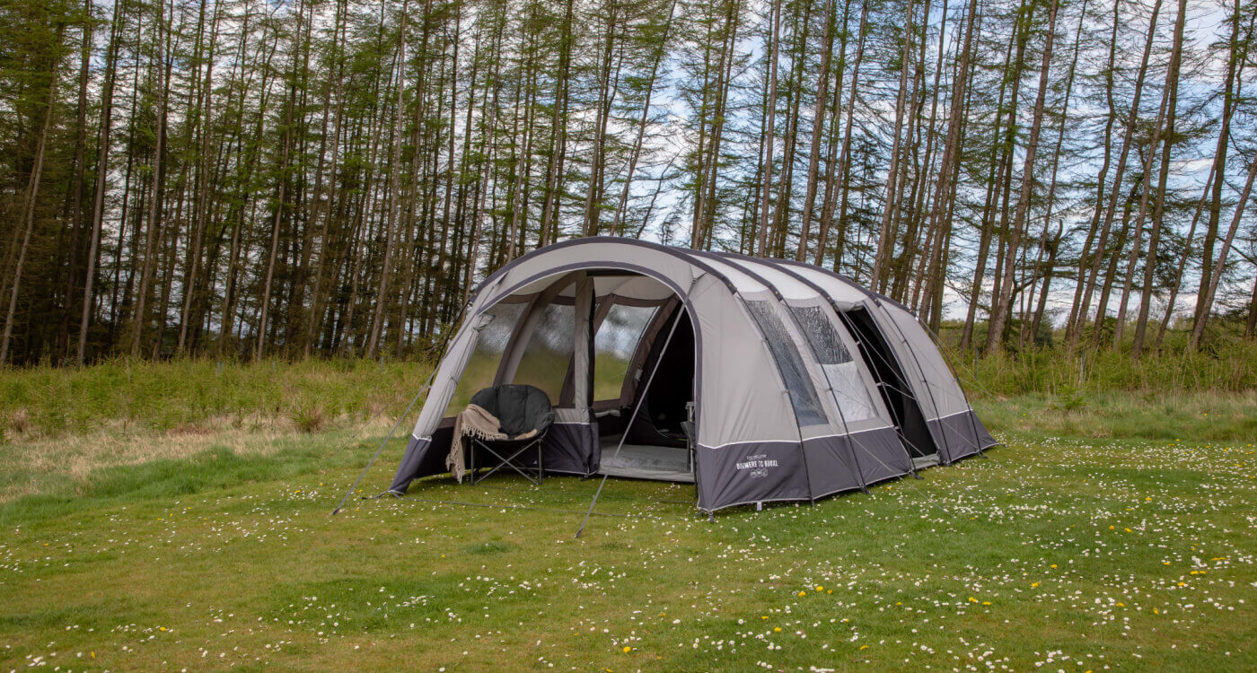 COLEMAN TENTS WITH HINGED DOORS
