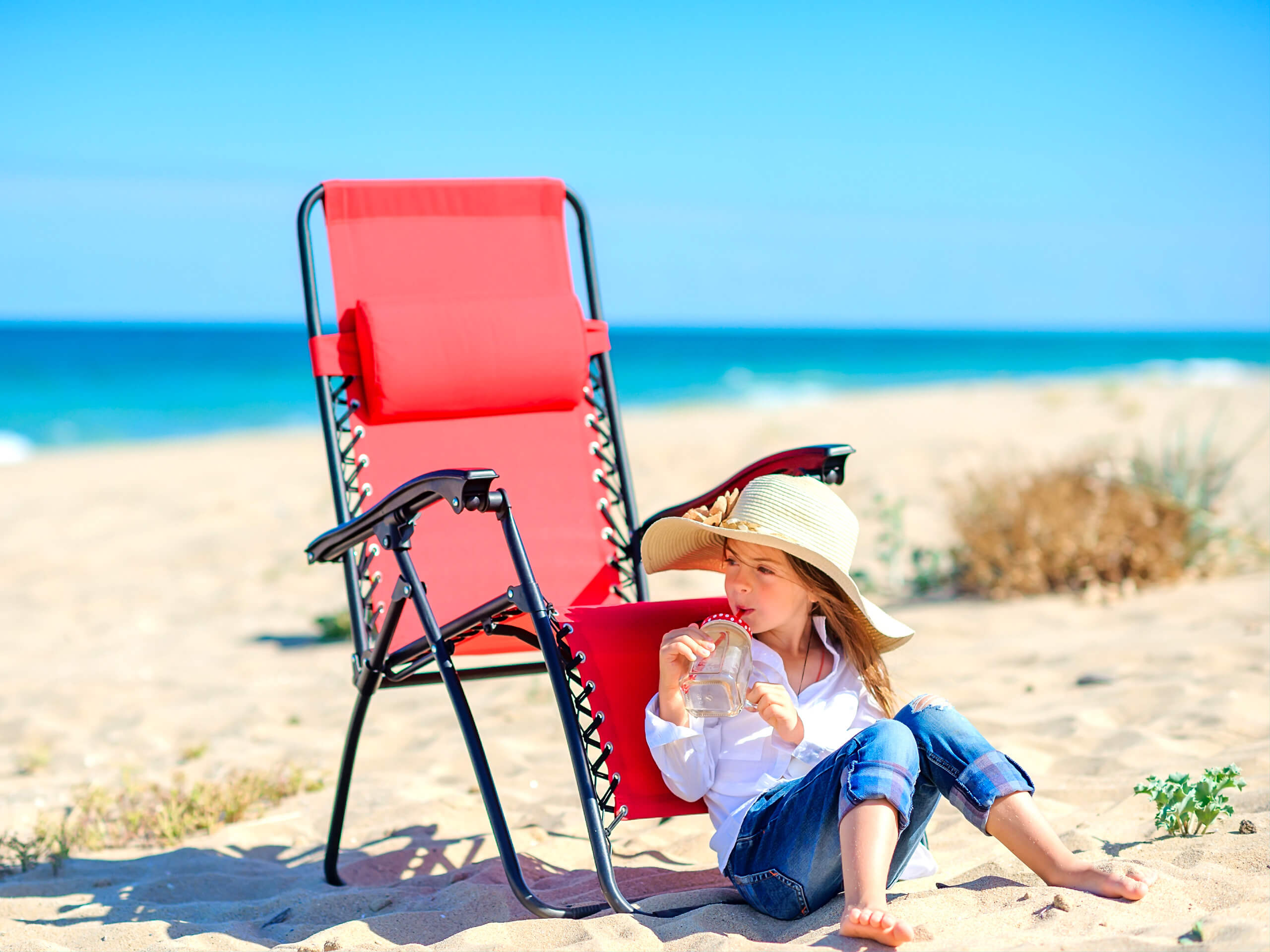 PERSONALIZED KIDS BEACH CHAIRS