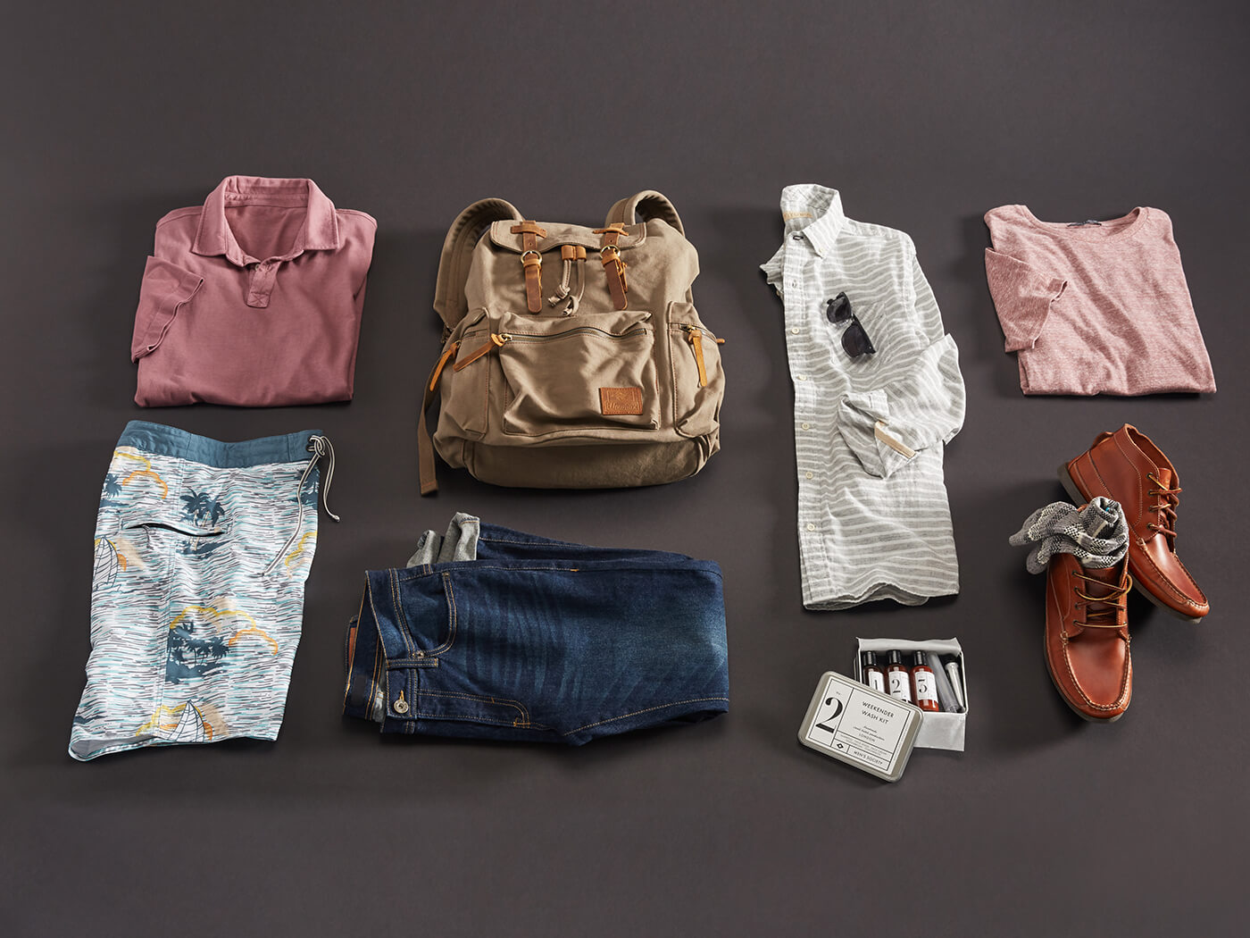 what to pack for a 4 day trip in summer men