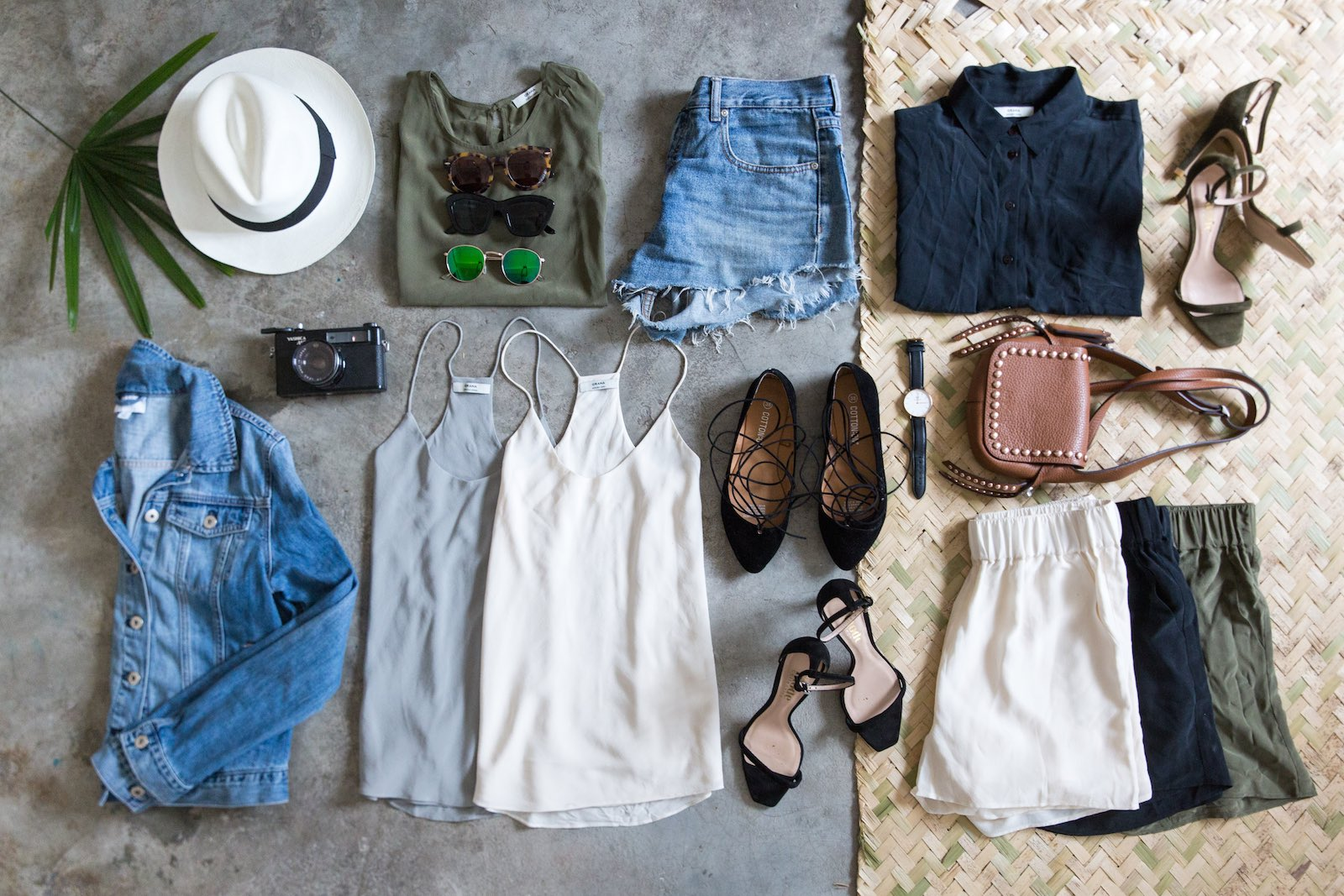 WHAT TO PACK FOR A 4 DAY TRIP IN SUMMER